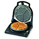 Chefs Choice Waffle Maker - 5 Hearts - Floating Topby Chef's Choice