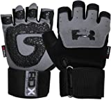 Authentic RDX Gel Weight lifting Training Gloves Gym Straps Bar