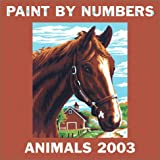 Paint by Numbers Animals Calendar (0789307847) by RIZZOLI