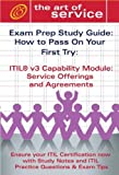 echange, troc  - Itil V3 Service Capability Soa Certification Exam Preparation Course in a Book for Passing the Itil V3 Service Capability Soa E