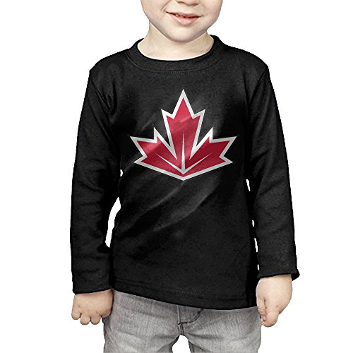 2016 Hockey World Cup Of CANADA Children's Pullover Long Sleeve T Shirt 5-6 Toddler