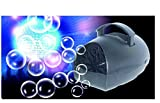 Lightahead® Portable Hubble Bubble Blowing Machine with Battery or adapter for Indoors & Outdoors parties & disco