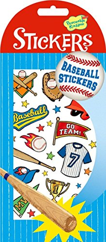 Peaceable Kingdom Baseball Sticker Pack