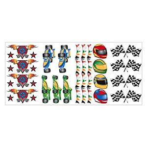 Formula 1 Wall Stickers Set