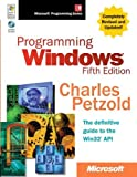 img - for Programming Windows? Fifth Edition (Developer Reference) by Petzold, Charles (1998) Hardcover book / textbook / text book
