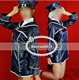 実物撮影高品質◆艦隊これくしょん/艦これ/Z1 Z3◆コスプレ衣装 合皮 レザーオーダーサイズ可能