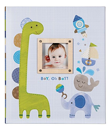 C.R. Gibson Memory Book, Boy Oh Boy front-983297
