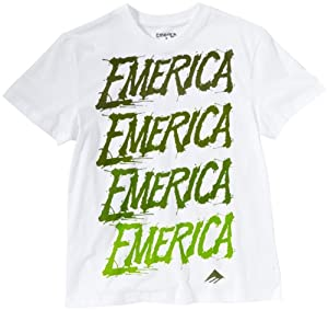 EMERICA Blahka-Blahka Childrens Short Sleeve T-Shirt - L, White