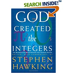 Book Cover: [request_ebook] God Created the Integers: The Mathematical Breakthroughs That Changed History