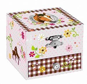 20944 - Los amantes de caballos: caja musical marca Desconocido - BebeHogar.com