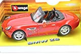 Burago 1:18 Scale Diecast BMW Z8 in Red - Gold Collection - Original Made in Italy - Very Rare
