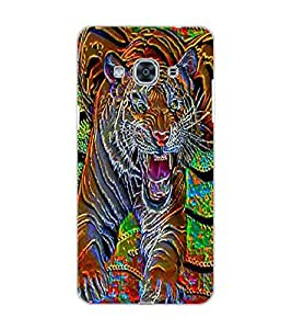 SAMSUNG GALAXY J3 PRO TIGER Back Cover by PRINTSWAG