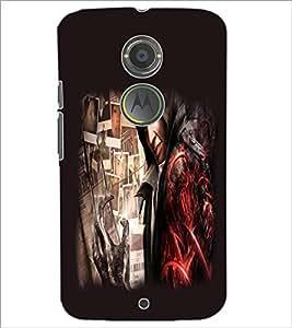 PrintDhaba Devil D-2220 Back Case Cover for MOTOROLA MOTO X2 (Multi-Coloured)