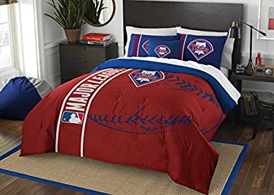 Philadelphia Phillies Comforter and Sham Bed Set