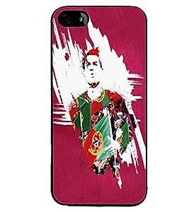 PRINTVISA Football Ronaldo Case Cover for Apple iPhone 5