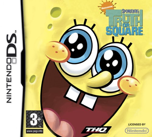 SpongeBob Truth or Square  (Nintendo DS)