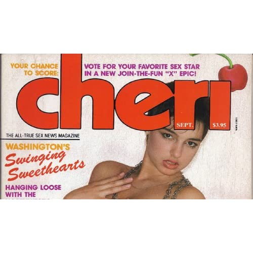 CHERI MAGAZINE SEPTEMBER 1985 CHERI MAGAZINE Books
