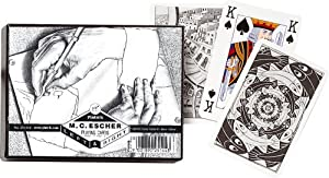 PIATNIK M.C. ESCHER DOUBLE DECK BRIDGE PLAYING CARDS #1