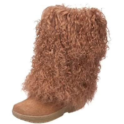Bearpaw Boetis Tan Brown Boots Suede Sheepskin Lamb 12