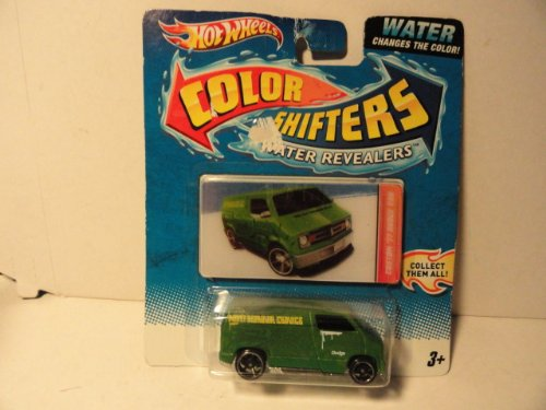Color Shifters 77 Dodge Van Water Revealers
