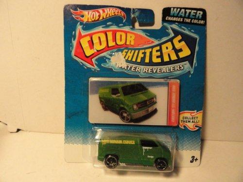 Color Shifters 77 Dodge Van Water Revealers