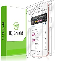 IQ Shield LiQuidSkin - Apple iPhone 6S 4.7 Screen Protector + Full Body Front & Back with Lifetime Replacement - HD Ultra Clear Smart Film - Premium Guard - Smooth / Self-Healing / Bubble-Free Shield