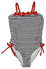 Kate Mack Girl's 2-6X Bateau L'Amour 1pc Swimsuit - Navy