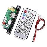 Dolity Car Bluetooth MP3 Decoder Audio Module 12V USB Radio+Remote Control - Black