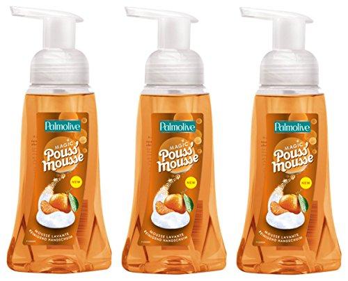 Palmolive Sapone Liquido Schiuma Detergente 250ml Mandarine Pompe - Lotto di 3