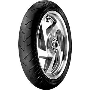 Dunlop Elite 3 Touring Cruiser Motorcycle Tire – Black – 90/90-21, Bias / Front