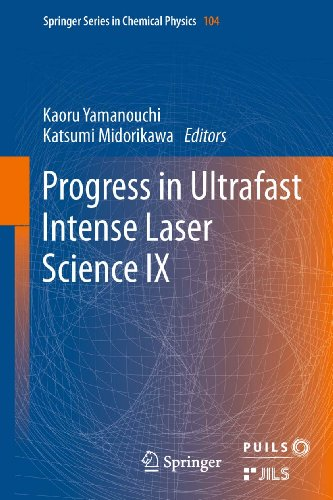 Progress In Ultrafast Intense Laser Science: 9 (Springer Series In Chemical Physics) back-147268