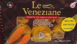 Le Veneziane Italian Gluten Free Corn Pasta Fettuce 250