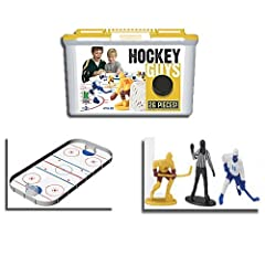 Kaskey Kids Hockey Guys Blue vs Yellow Hockey Guys by Kaskey Kids