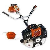 Nemaxx MT22 2-in-1 Benzin Gartenwerkzeug Motorsense Freischneider Grasschneider Rasentrimmer Dickichtschneider Heckenschere Trimmer