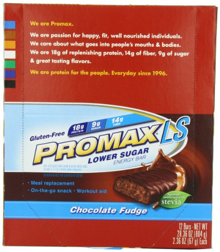 Promax LS Basse sucre Energy Bar, Chocolate