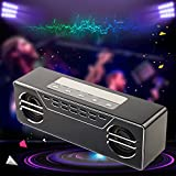 Alcoa Prime Newest Mini 600T LED Rechargeable Bluetooth Wireless Speaker Stereo HIFI Loudspeakers For PC MP3 Home Office Decoration Gift