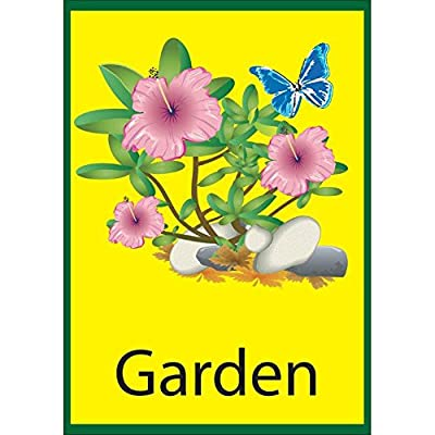 Garden Dementia Sign Self Adhesive