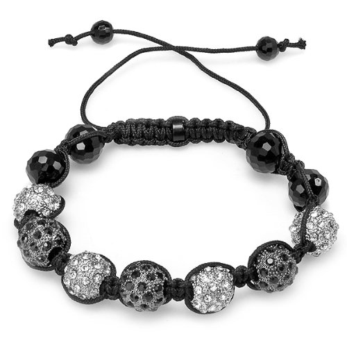 Bracelet Mens Ladies Unisex Hip Hop Style Pave