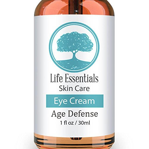 Eye Cream For Dark Circles, Puffiness, Bags & Wrinkles - 1 OZ - Best Under Eye Moisturizer & Treatment - Natural & Organic Anti Aging Formula For Crows Feet & Fine Lines - Satisfaction Guarantee - Cruelty Free (Shower Head Essential Oil compare prices)