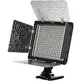 Yongnuo YN-300 LED Lumière vidéo,Lampe vidéo,Eclairage Vidéo de gradation Pour DSLR caméra DV caméscope Canon Nikon Sony Pentax-avec la Télécommande IR