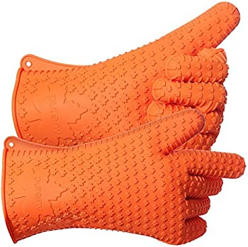 Purefly Silicone Heat-Resistant Gloves