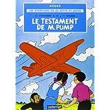"""Les aventures de Jo, Zette et Jocko.: Le Stratonef H. 22. Episode 1, Le testament de M. Pumpvon """"Herg�"""""""