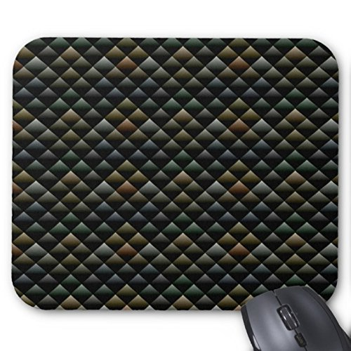 Snakeskin Pattern Abstract Mouse Pad