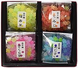 Konpeito [Kyoto Four Seasons] (40g X 4 ) [Japan Import]