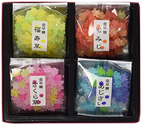 京都 四季のうつろい 金平糖 四季 40g×4袋入