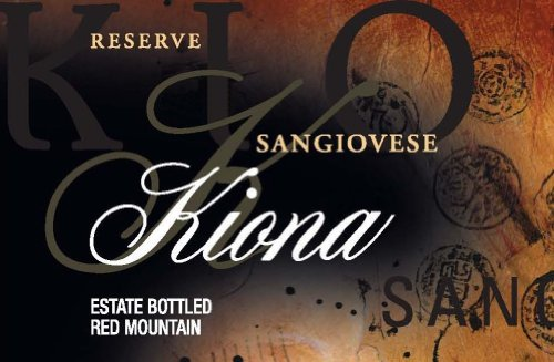 2005 Kiona Vineyards And Winery Red Mountain Sangiovese 750 Ml