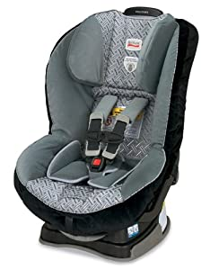 Britax Boulevard Convertible Car Seat with Anti-Rebound Bar, Silverbirch