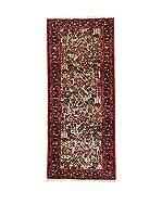 L'EDEN DEL TAPPETO Alfombra Rudbar Rojo/Multicolor 84 x 200 cm