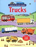 Trucks Sticker Book (Usborne Sticker Books)
