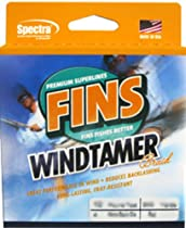 Fins Spectra 300-Yards Windtamer Fishing Line, Yellow, 50-Pound